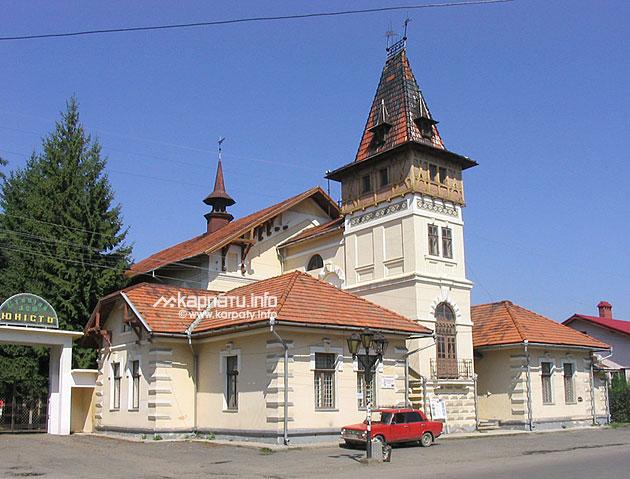 Колишній будинок товариства &;сокіл